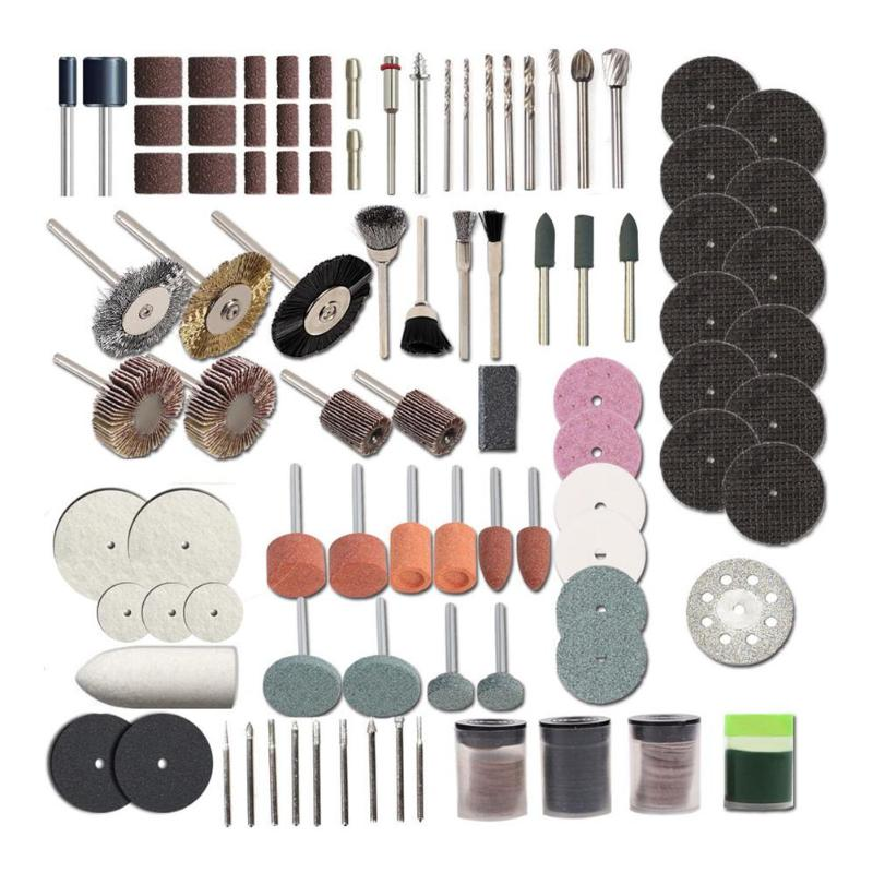 248pcs Electric Drill Dremel Grinder Engraving Pen Grinder Mini Drill Electric Rotary Tool Grinding Machine Dremel Accessories