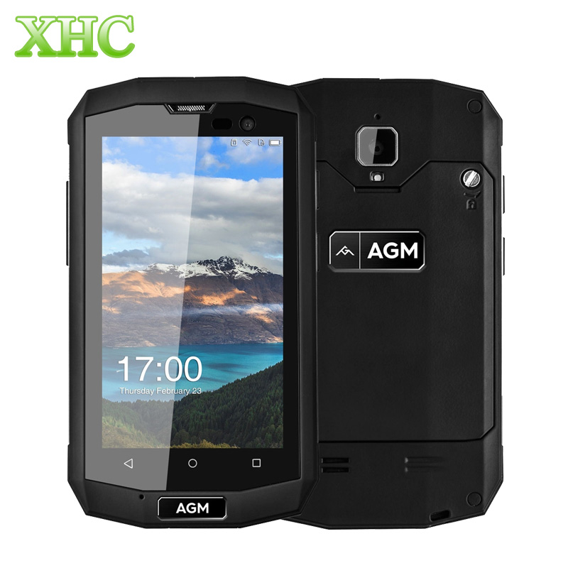 Original AGM A8 Mini 4G LTE Smart Phone 2GB 16GB IP68 Waterproof 4 0 Inch Android