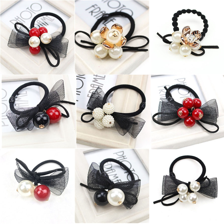 9PCS/SET  Ball Hair Accessories For Women Headband,Elastic Bands For Hair For Girls,Hair Band Hair Ornaments For Kids