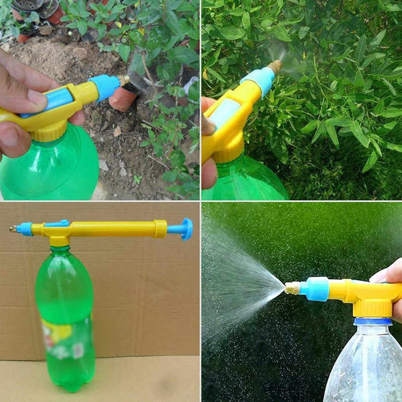 Water Gun Garden Irrigation Sprayer Head Water Pressure Watering Spraying Outdoor Garden Tool Creative Simple sprayer nozzle