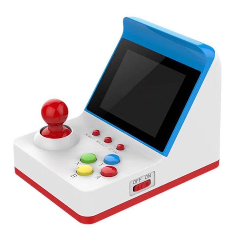Rétro Mini 8 bits 3 pouces écran LCD Arcade Console de jeu portable intégré 360 jeux classiques avec deux Gamepad pour enfants cadeau