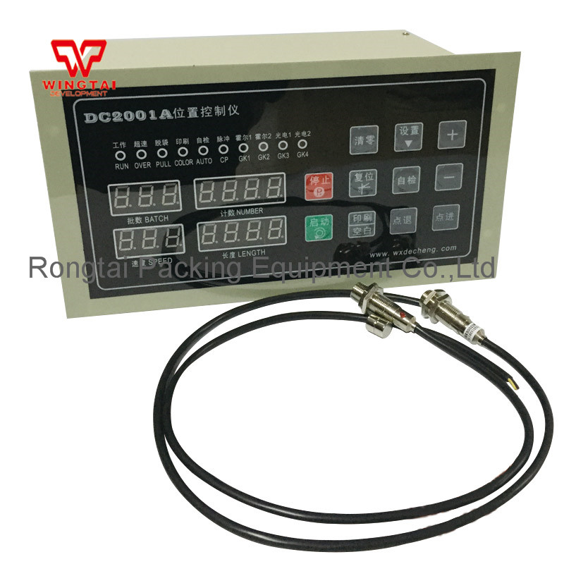 DC2001A Position Control Instrument Digital LCD Bag Making Machine Cutter Computer Controller цена