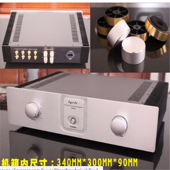 4310 amplifier chassis / Preamplifier case / AMP Enclosure DIY box (400 *105*300mm)