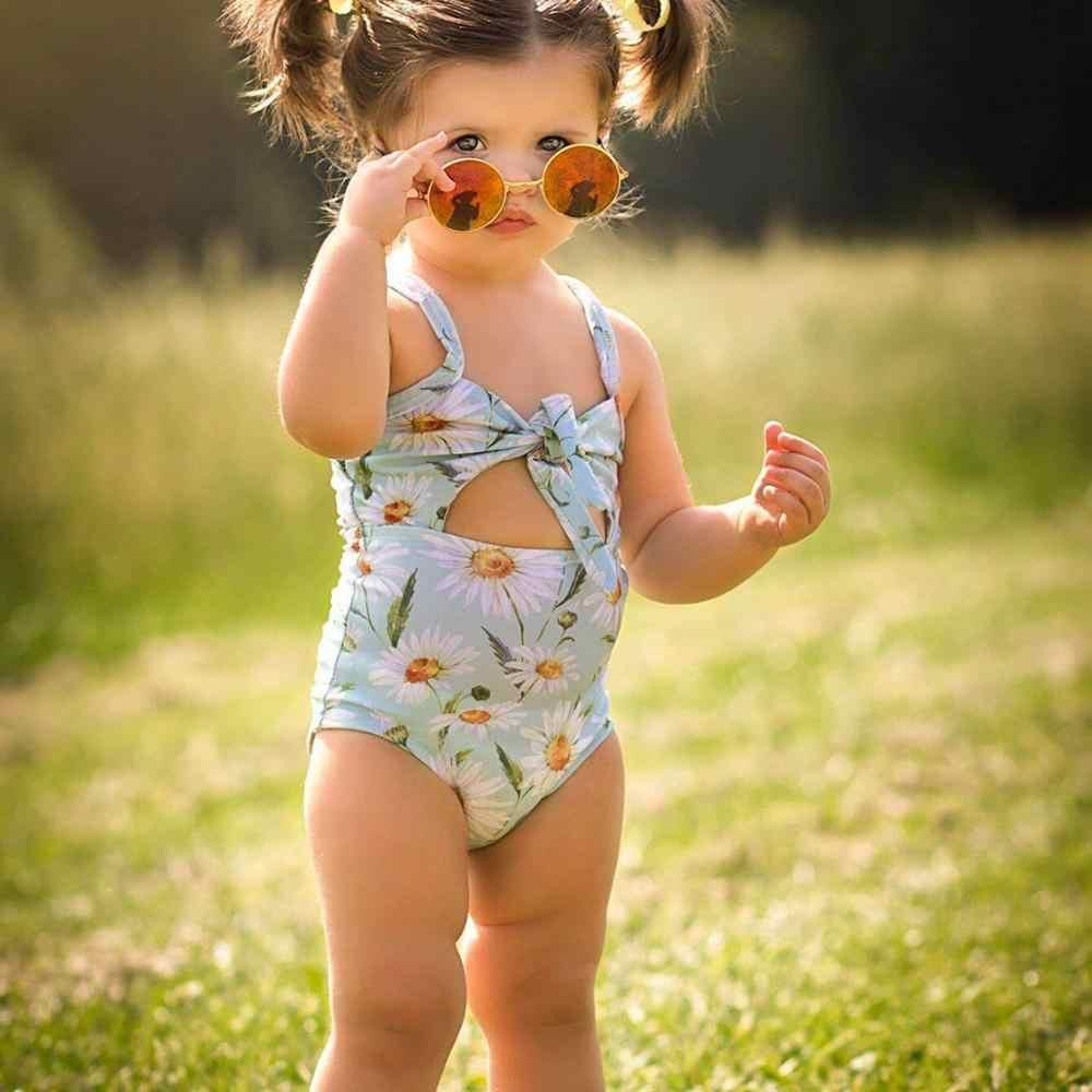 Trẻ em Hoa Cúc Đồ Bơi cho Bé Gái Một mảnh Trẻ Em Đồ Bơi Bé Gái Đồ Bơi Trẻ Em Áo Tắm 1-6 năm Trang Phục Dropshipping