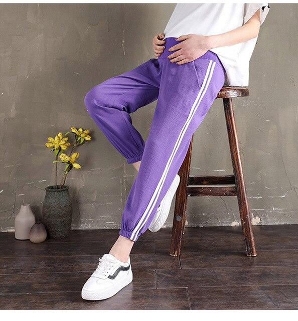 Side Stripe Purple