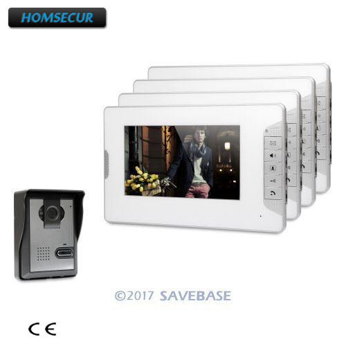 HOMSECUR 7 Wired Video Door Entry Security Intercom with Mute Mode for Home SecurityHOMSECUR 7 Wired Video Door Entry Security Intercom with Mute Mode for Home Security