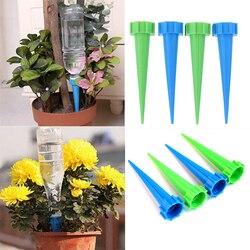 4 pçs/lote sistema de irrigação kits rega automática indoor houseplant spikes para planta vaso flor economia energia ambiental