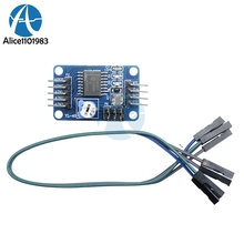 PCF8591 PCF8591T Single Low Power Supply 4 CH Channel Analog AD DA Control Board Module For Arduino Raspberry Pi I2C 3.3V 5V