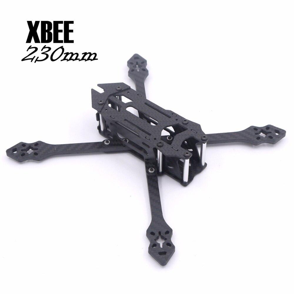 XBEE ASD 230 230mm 5 pulgadas trueX 5mm Marco de fibra de carbono ...