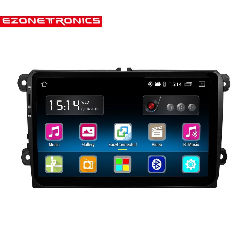 1 din android 5 1 car radio stereo 9 touch screen high. Black Bedroom Furniture Sets. Home Design Ideas