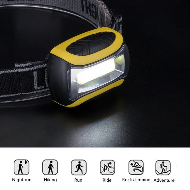 Waterproof LED Headlamp (3 Modes)