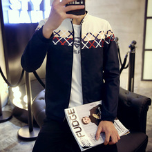 Fashion Men Sweaters Long Jacket For Plaid Coat Trench Man Casual Overcoat Cashmere Especially Slim Fit Male Double Button 853