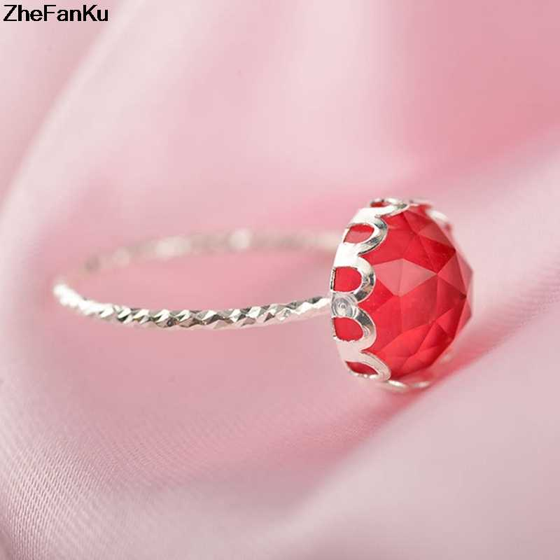 Модное роскошное розовое золото кольцо женское свадебное кольцо с большим с зеленым камнем овальной формы хрустальные кольца для женщин ювелирные изделия