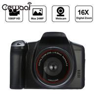 Новая цифровая камера 720 P 16X ZOOM DVR черная Новая цифровая камера 720 P 16X ZOOM DV рекордер Свадебная Запись Цифровой зум Ручной