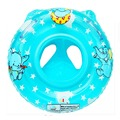 New Inflatable Circle Swimming Ring/seat Handles Baby Toddler Safety Aid Durable Float Pool Water Two Color YY0057