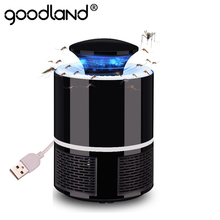 Goodland LED Mosquito Killer Lamp USB Anti Mosquito Electric Bug Zapper Silent Insect Killer Mosquito Trap For Bedroom Outdoor