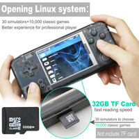 RS 97 Classic Retro Handheld Game Player Mini Video Game Console 3.0 inch Screen with 16GB Portable Built in 3000 Games
