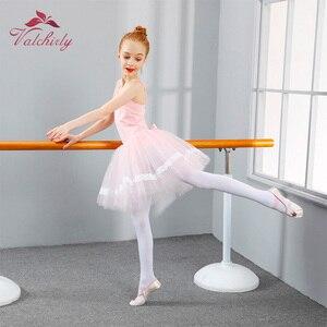 Image 4 - Новое балетное платье пачка для девочек, одежда для трико и танцев, Детские праздничные платья принцесс, детские танцевальные костюмы
