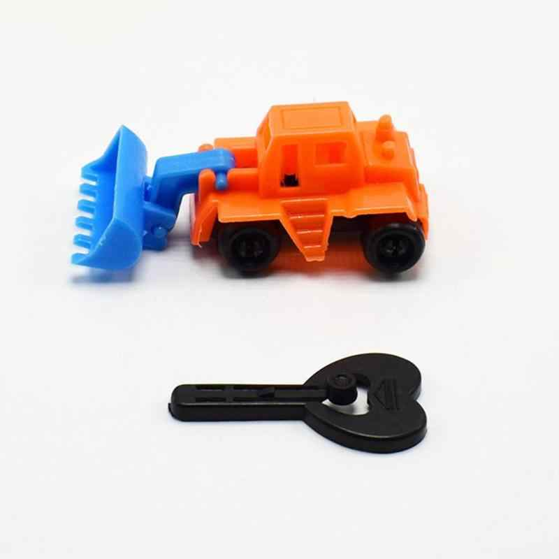 Anak-anak Mini Teknik Mobil Traktor Mainan Anak Dump Truk Model Mainan Anak Laki-laki Simulasi Kendaraan Mobil Set Bayi Ulang Tahun Hadiah Acak