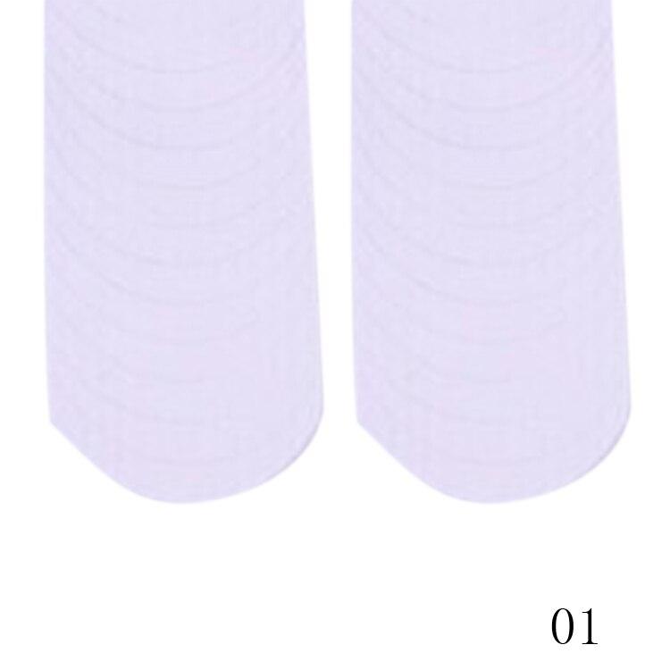 New Fashion 48PCS/Lot Nail Sticker DIY French Manicure Nail Art Decorations Round Form Fringe Guides Nail Sticker 1