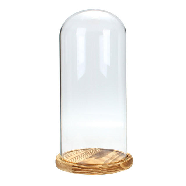 Online Shop Clear Glass Dome Cover Glass Display Dome Cloche Bell