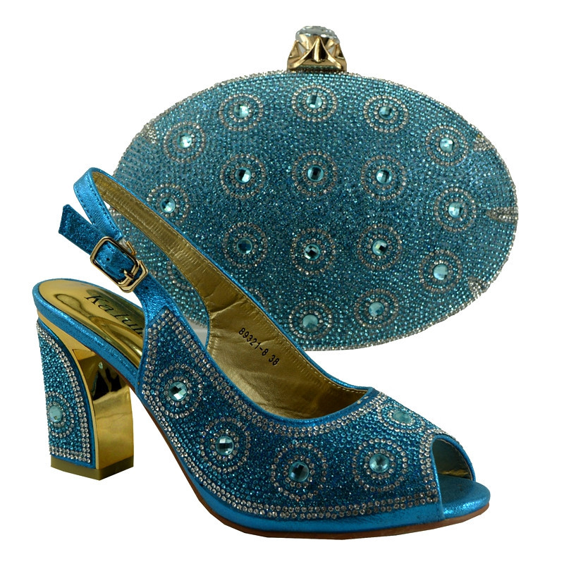 ФОТО Italian Shoes With Matching Bags Shoes And Bags To Match For Wedding African Shoe And Bag Set For Party In Women 89231-8