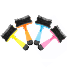 Pet hair removal brush pet combs Automatic Dog Hair Remover Cat Brush Grooming Tools Pet Trimmer Combs for Cat Pet Supplies