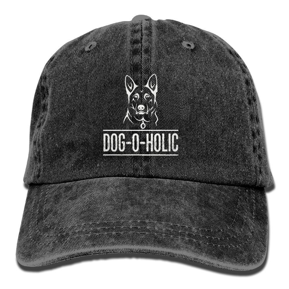31ac580f83d For German Shepherd Dog Lovers Vintage Washed Dyed Cotton Twill Low Profile  Adjustable Baseball Cap Black-in Baseball Caps from Apparel Accessories on  ...