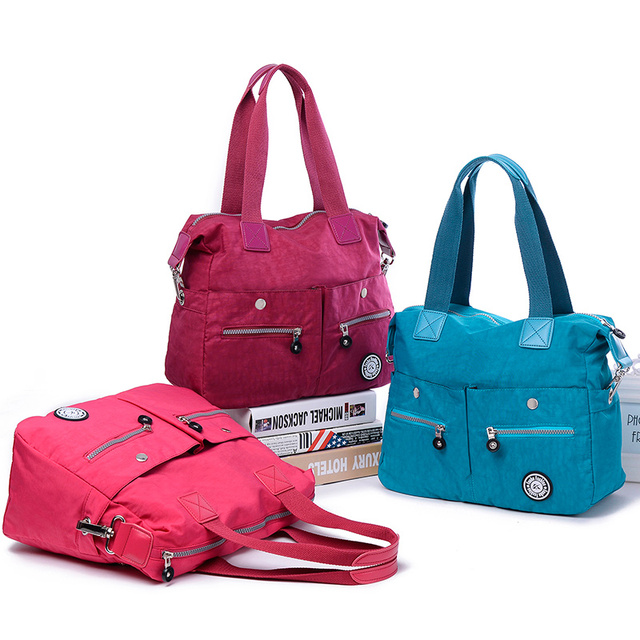 2018 Brand Authentic Crossbody Bags Women s Travel plus size shoulder  handbags multifunctional waterproof nylon Messenger Bags 37aca32887f9b