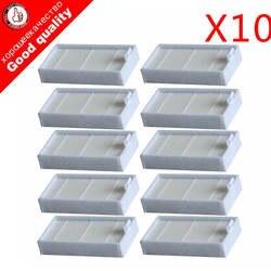 10 шт. пылесос фильтры HEPA фильтр для CHUWI V3 iLife X5 V5 V3 + V5PRO ECOVACS CR130 cr120 CEN540 CEN250 ML009 очиститель Запчасти