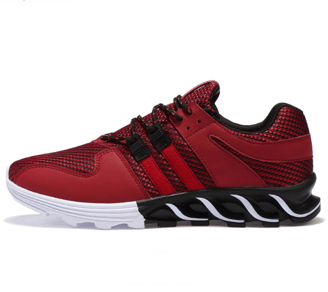 New Mens Running Shoes Outdoor AIR Mesh Breathable Jogging Style Sports Shoes Camping Flat Walking Training Men Sneakers
