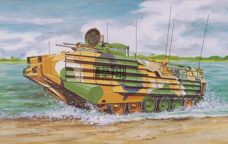 1:35 USA Navy AAV7A1 Armored Tank Military Electric Assembly Model  801151:35 USA Navy AAV7A1 Armored Tank Military Electric Assembly Model  80115