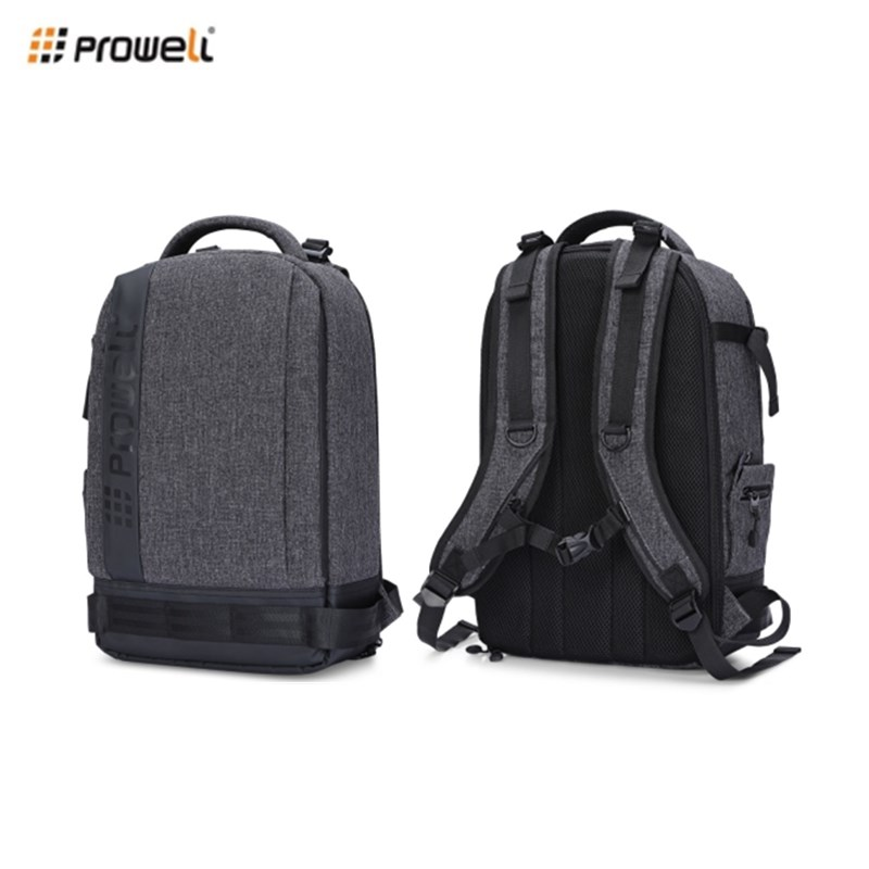 PROWELL DC22095 Digital DSLR Camera Photography Backpack Waterproof Canvas Travel Backpack Camera Bag for Nikon Canon Camera ecosusi men multifunctional backpack for dslr shockproof waterproof camera rucksack backpack travel bag for canon eos 100d nikon