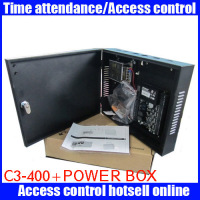 C3 400 for access controller control 4 doorsTCP/IP with power protect box door access control board