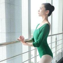 Sexy Dance Bodysuit Women Ballerina Dancing Ballet Dancewear Gymnastics Leotard Adults Girls Costumes
