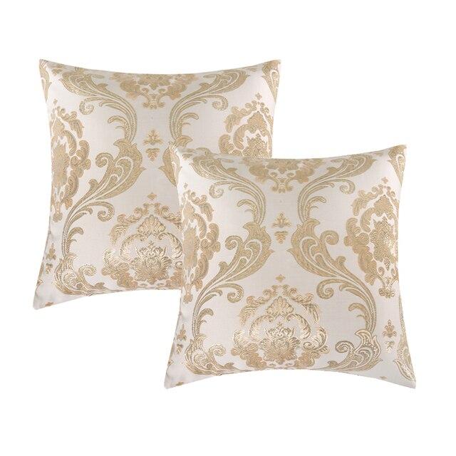Cuscini decorativi per divano di Lusso Oro Jacquard Federa Fodere per Cuscini Co