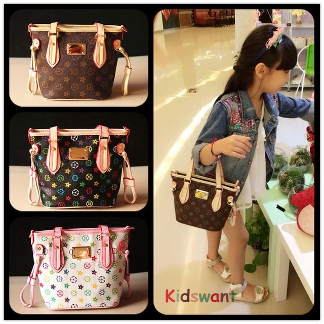 39c79425667b Newest Kids Tote Bag Stylish Child Handbag Designer Kid Girl Purses  Shoulder bags Fashion Children Handbags Mini Baby BAG