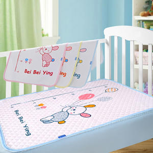 Cotton Waterproof Bed Sheets Changing Mat Babys Urine Pad
