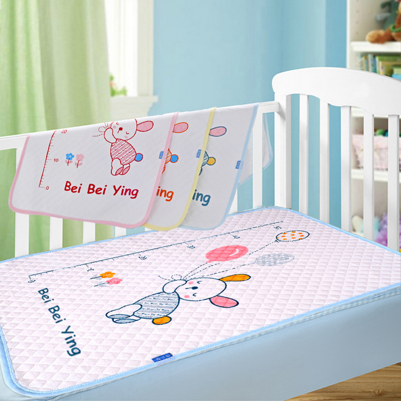 New cotton baby infant waterproof pad bed sheets changing mat Babys urine pad for newbor ...