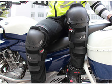 4pcs Motocross Knee Protector Brace Protection Elbow Pad Kneepad Motorcycle Sports Cycling Guard Protector knee guard Black