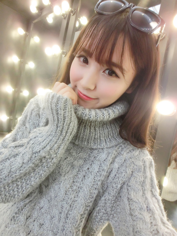 The new 2016 sets woman with thick stick knitwear shag turtleneck sweater increasing female line twist cultivate ones morality