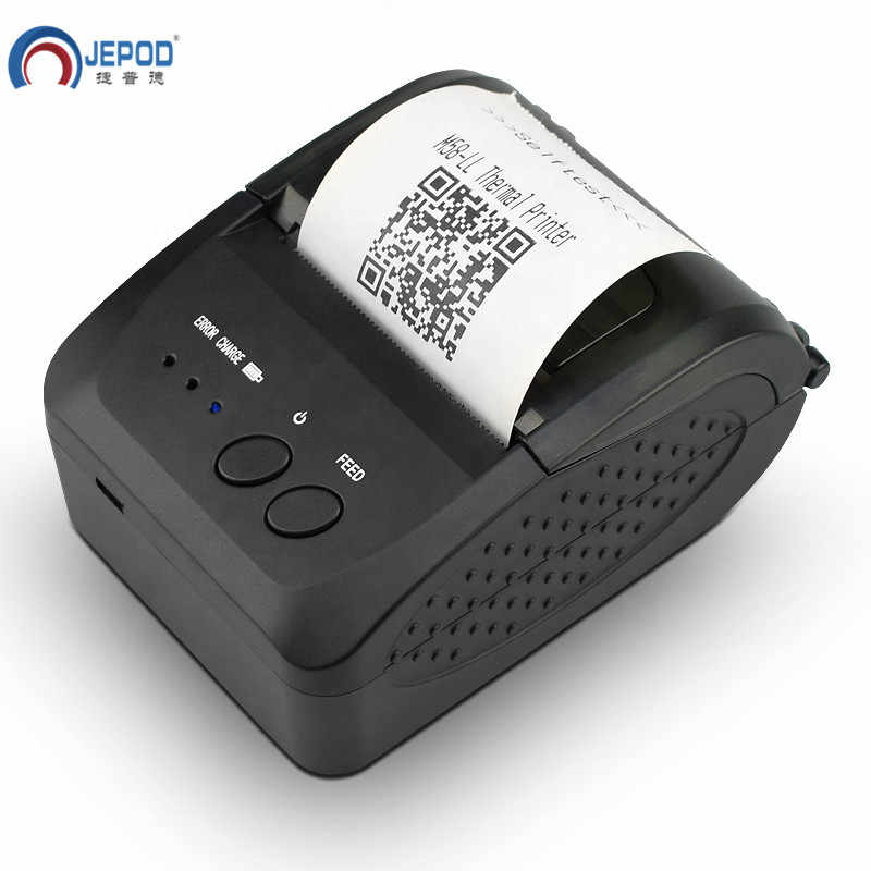 JP-5809LYA 58 Mm Genggam Portabel Ponsel Bluetooth Thermal Printer USB Penerimaan POS Bill Termal Printer untuk Toko