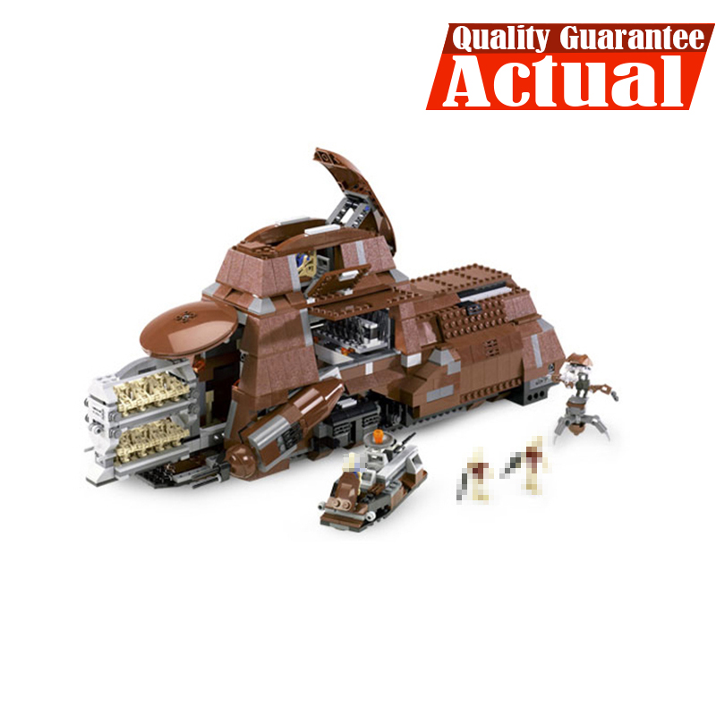 Lepin 05069 Series The Federation Transportation Tank Set MTT Children Building Blocks Bricks Kids Toys Toys Compatible with7662 new lepin 16009 1151pcs queen anne s revenge pirates of the caribbean building blocks set compatible legoed with 4195 children