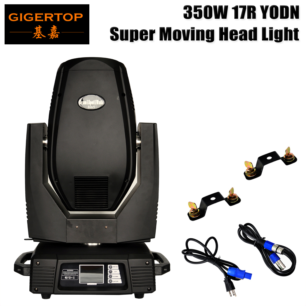 New Stage Light Spot & Beam & Wash 3IN1 17R Led Head Loving Head Light 16/24 DMX Fixed / Rotate Gobo Plate Led Moving Head Beam Light