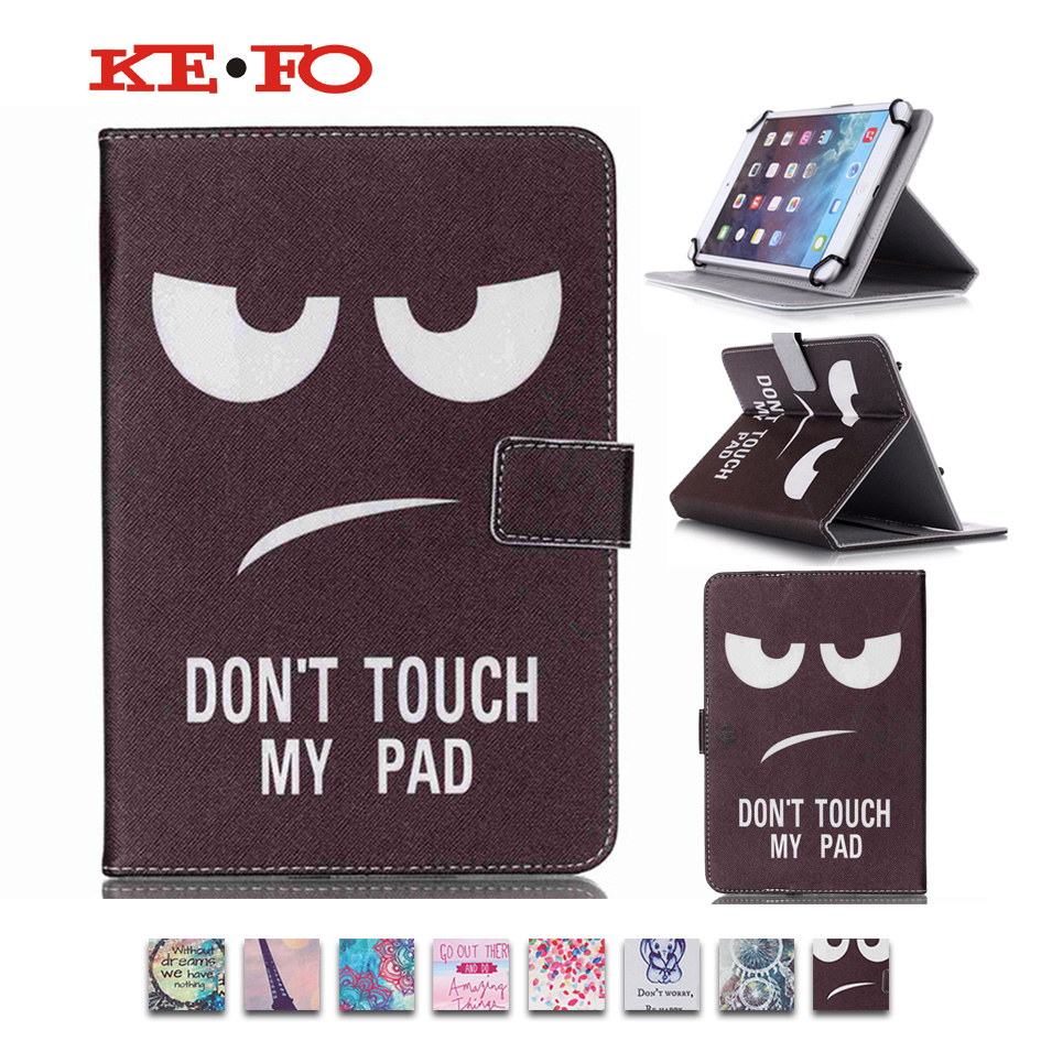 KeFo For Lenovo tab 4 10 plus tb-x704l 10.1 inch Tablet Case Cover PU Leather Stand Flip Universal 10 inch+Center Film+Pen Style