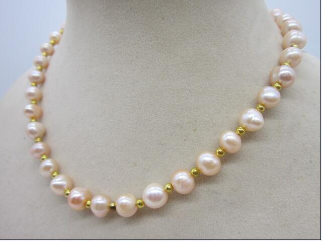 18inch 925silver 8-9 mm Australian SOUTH SEA gold pink kasumi PEARL NECKLACE18inch 925silver 8-9 mm Australian SOUTH SEA gold pink kasumi PEARL NECKLACE