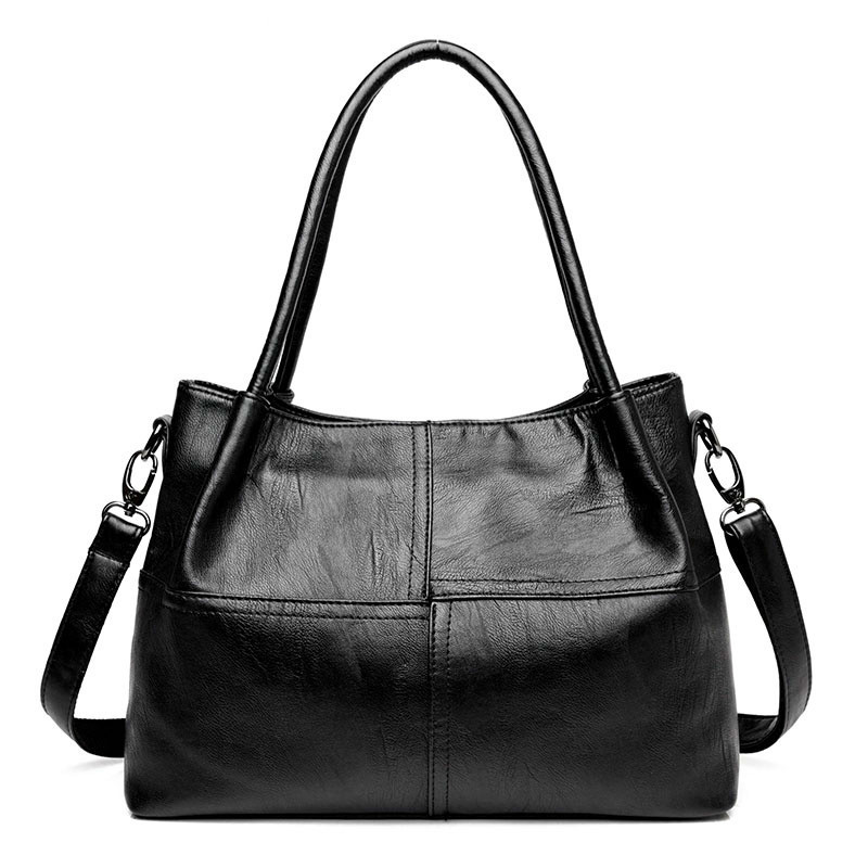 Famous Brand Ladies Hand Bags PU Leather Women Bag Casual Tote Shoulder Bags 2018 Sac New Fashion Luxury Handbags Large Tote Bag new handbags women fashion leather tote women handbag female famous brand shoulder bags lady luxury bag cossbody bags for women