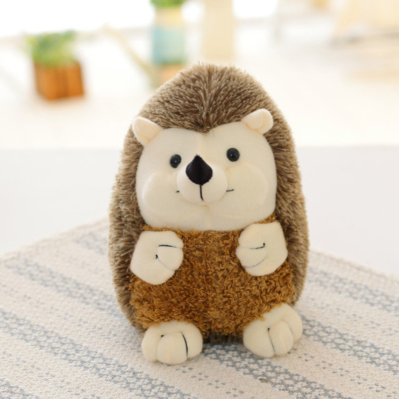 Plush Toys For Children Stuffed Soft Animal Baby Doll Toy Hedgehog Watermelon Pineapple Lion Panda Alpaca Cartoon Gift Present