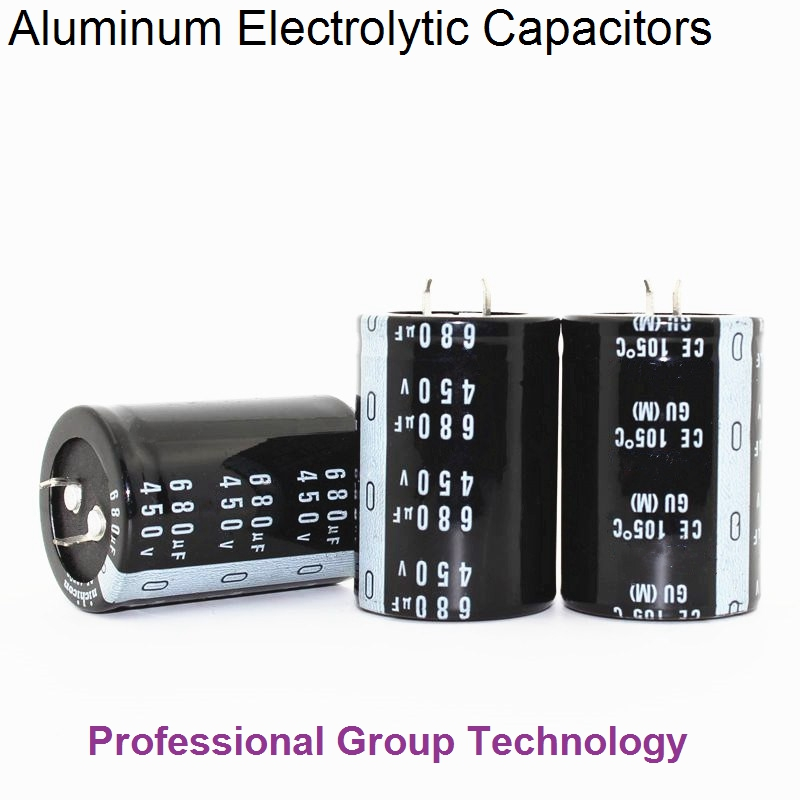 1pcs/lot 450v 680UF Aluminum Electrolytic Capacitor Size 35X45MM 35X50MM 680UF 450V 20%