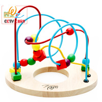 Factory Direct Wholesale And Retail Development On Children S Educational Toys Wooden Beads Beads Ring Around